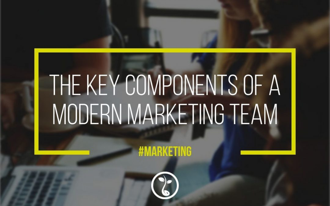 The Key Components Of A Modern Marketing Team