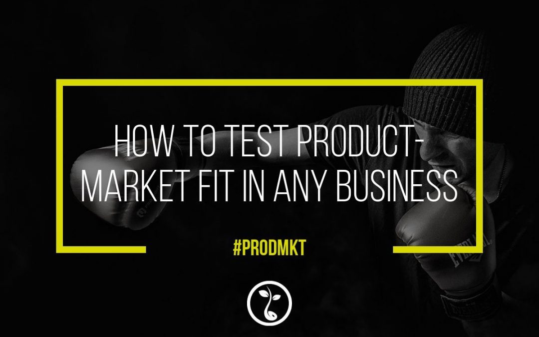 How To Test Product/Market Fit In Any Business