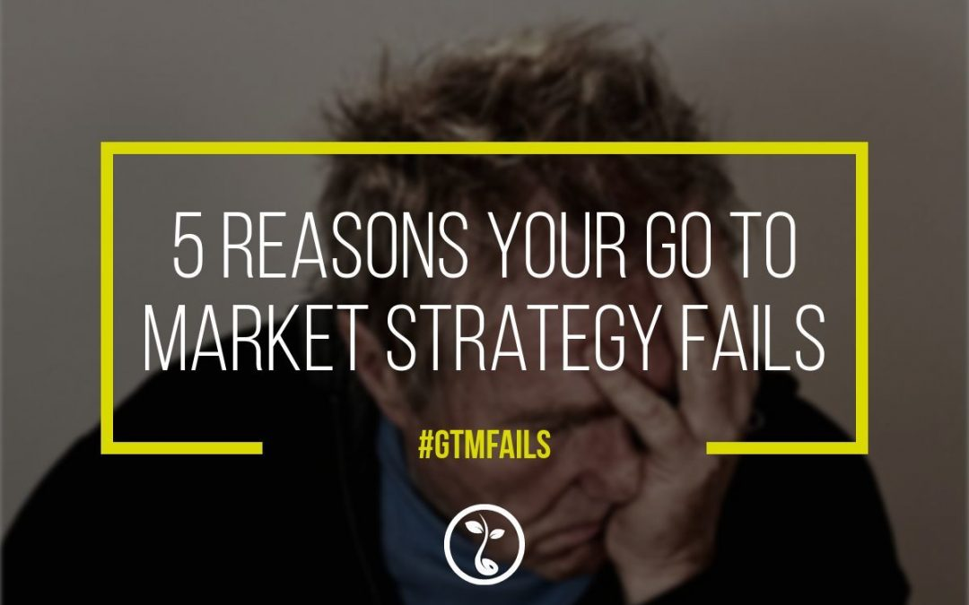 5 Reasons Your Go To Market Strategy Fails